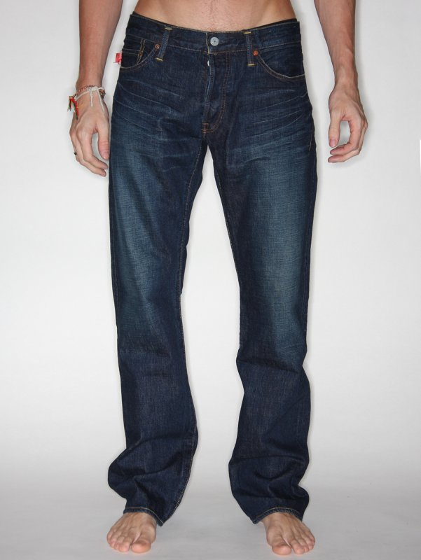 Kato Slim Straight Leg Denim