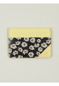 Flower Print Card Holder