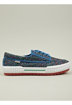 Men's Blue Helios Plimsoll