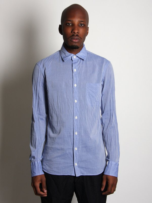 Kolor Soft Cotton Chambray Shirt
