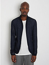 kolor Men's Fine Linen Slim Cardigan
