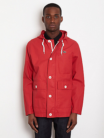 Lacoste L!ve Hooded Jacket