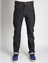 Lee 101 Z K Regular Selvedge Washed Denim Jeans