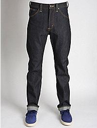 Lee 101 Z K Regular Selvedge Washed Denim Jeans