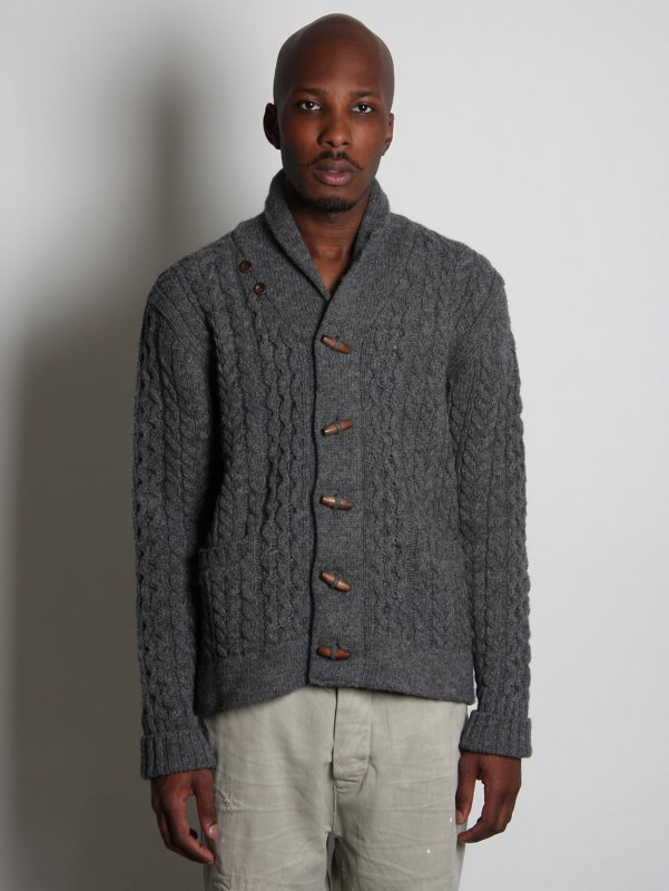 Levi's Vintage Clothing Cable Knit Cardigan