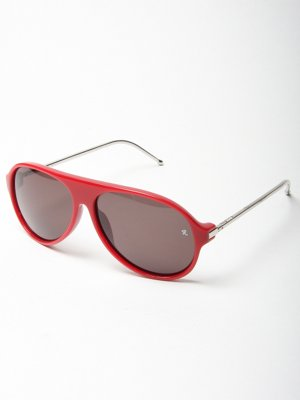 Red Framed Sunglasses