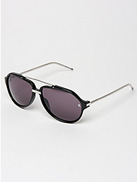 Linda Farrow x Raf Simons Double Bridge Aviator Sunglasses