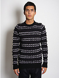 Lou Dalton Fairisle Knitted Crewneck Jumper