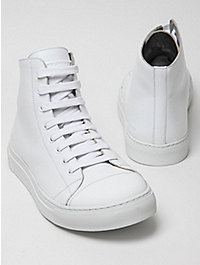 Marc Jacobs Men's Leather Hi-Top Combo Sneaker