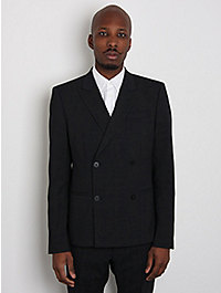 Marc Jacobs Men's Virgin Wool Double Breasted Formal Jacket