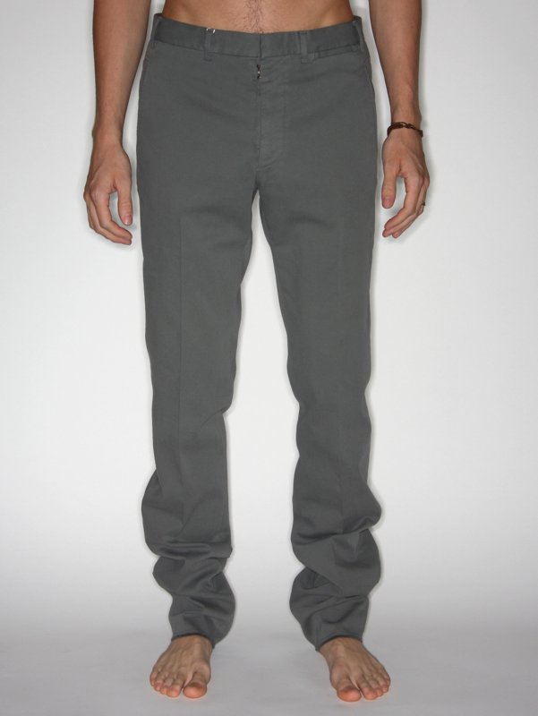 Martin Margiela Slim Cotton Trousers