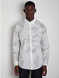 Maison Martin Margiela 10 Men's Regular Fit Printed Shirt