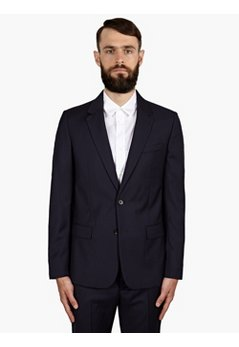 14 Men's Navy Wool Jacket