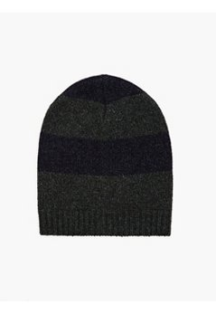 14 Men's Striped Yak Wool Hat