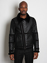 Neil Barrett Shearling Bomber Jacket