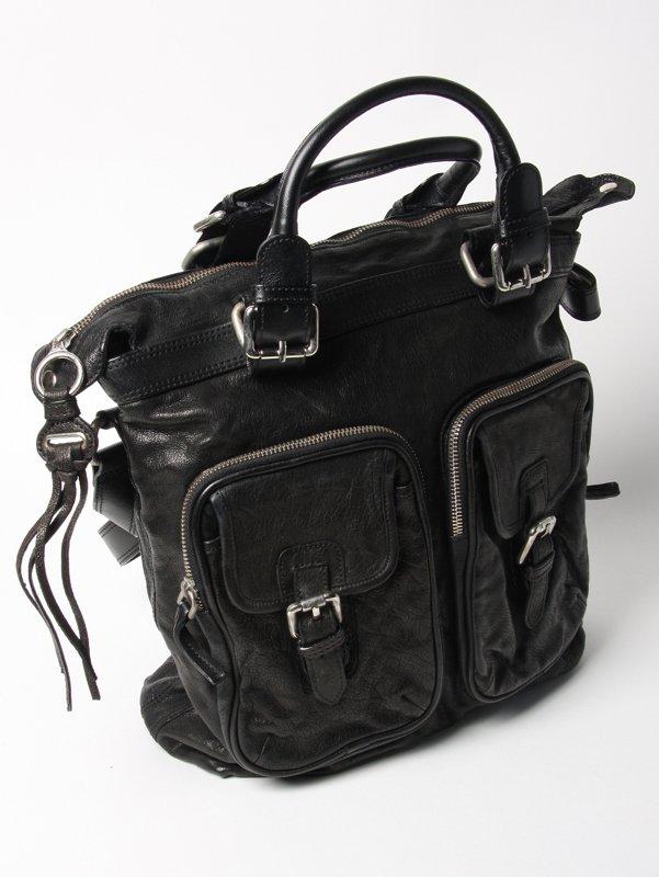 Neil Barrett Leather Kravitz Bag