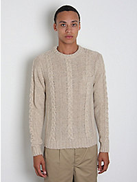 Norse Projects Olaf Cable Knit