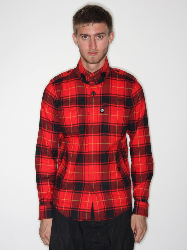Over The Stripes Tartan Shirt