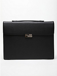 Porter Grid Brief Case