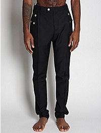 Raf Simons Front Pleat Wool Mix Trousers