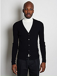 Raf Simons Ribbed Wool Cardigan