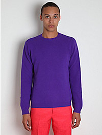 Raf Simons Men's Cable Backed Shetland Jumper