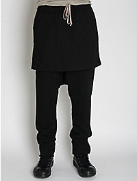Rick Owens DRKSHDW Skirted Trouser
