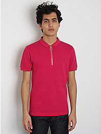 Raf Simons / Fred Perry Zip-Placket Polo Shirt