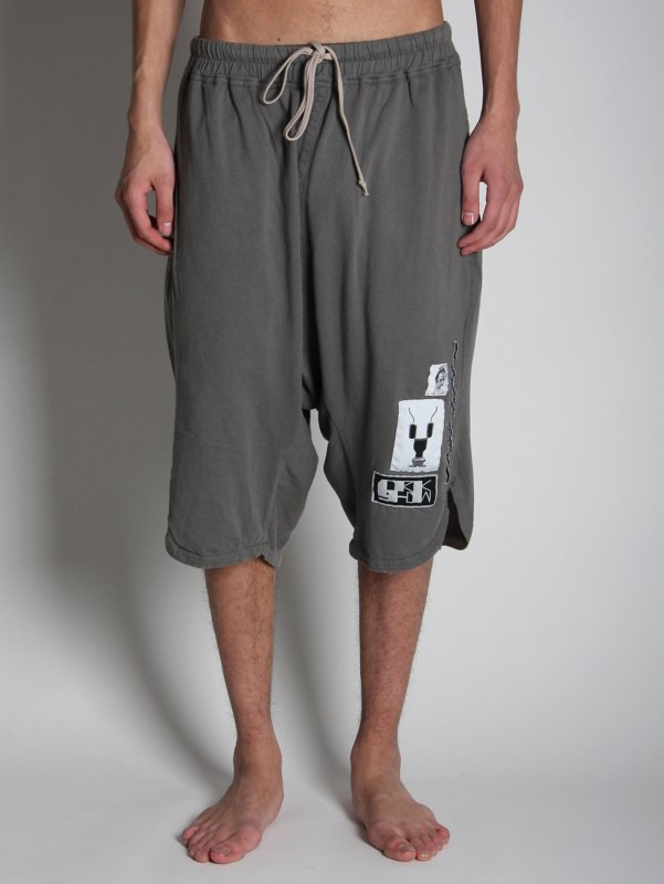 Rick Owens Drop Waist Board Shorts