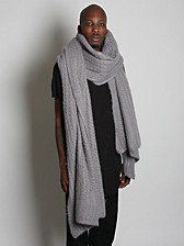 Rick Owens Oversized Knitted Scarf