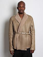 Rick Owens Numan Sheepskin Jacket