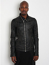 Rick Owens Anthem Men's Studded Leather Jacket