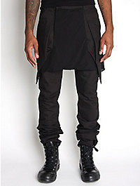 Rick Owens Anthem Men's Skirted Trousers