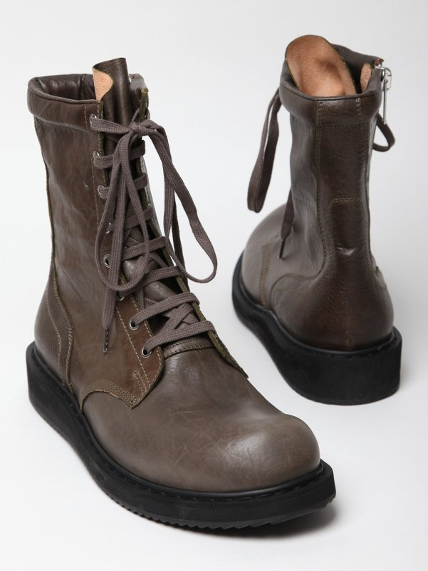 lace up boots for men. Men#39;s Boots Rick Owens Anthem