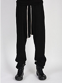Rick Owens Men's Draw String Skirted Trouser