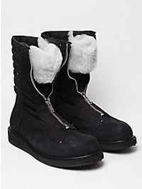 Rick Owens Men's Zipped Military Boot