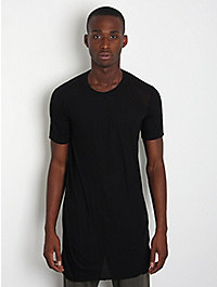 Rick Owens Men's Crew Neck T-Shirt