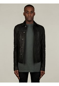 Men's Leather Work Jacket