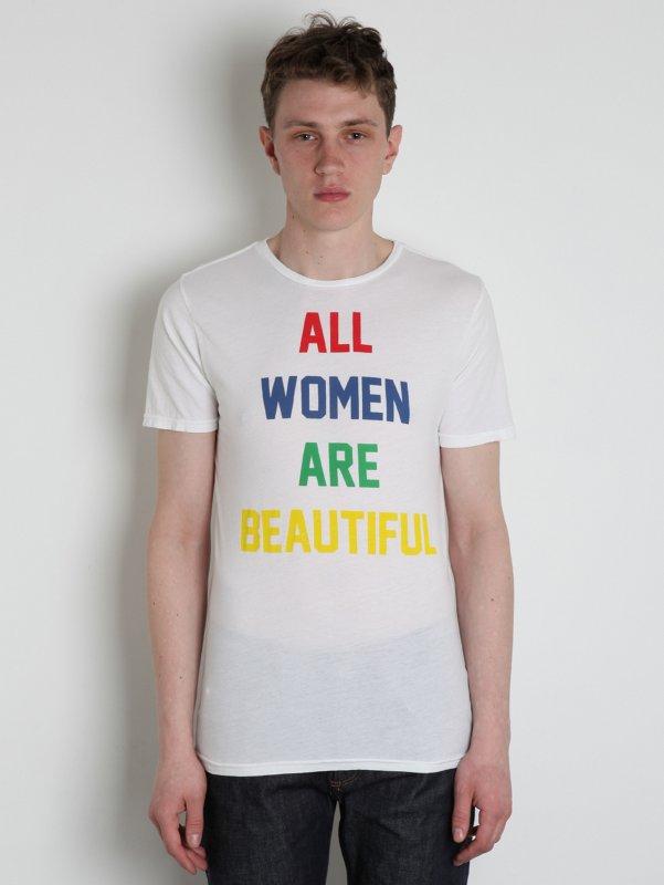 Mens 123 All Women Crew T-Shirt