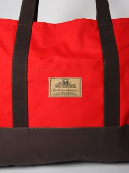 Carry All Bag with Zip: Red