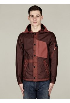 Men's Gommato-R Windbreaker Hooded Jacket