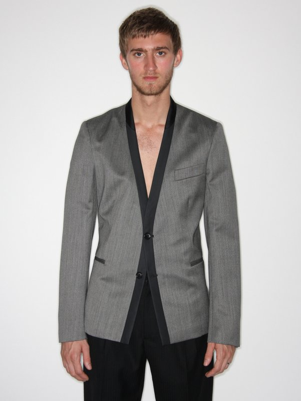 Satyenkumar Cardigan Tailored Jacket