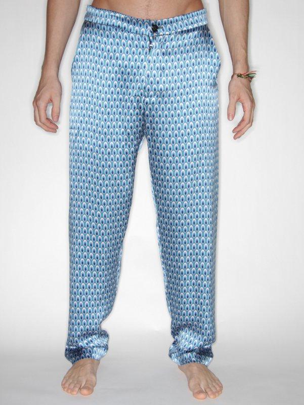 Satyenkumar Pyjama Trouser (Oval Print)