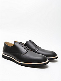 T & F Slack Men's Traditional Derby Shoe with Micro Sole