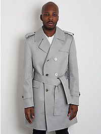Thom Browne Double Breasted Unconstructed Trench Mac