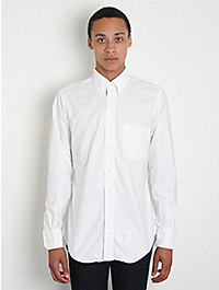 Thom Browne Classic Button-Down Oxford Shirt