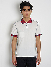 This Is Not a Polo Shirt Baseball Polo Shirt: White