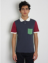 This Is Not A Polo Shirt Colour Block Polo Shirt