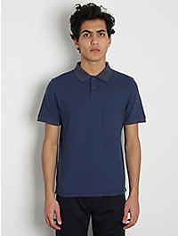 This Is Not a Polo Shirt Multi Colour Speckle Polo Shirt: Navy