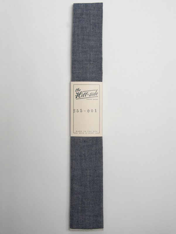 The Hill-Side Selvage Chambray Tie